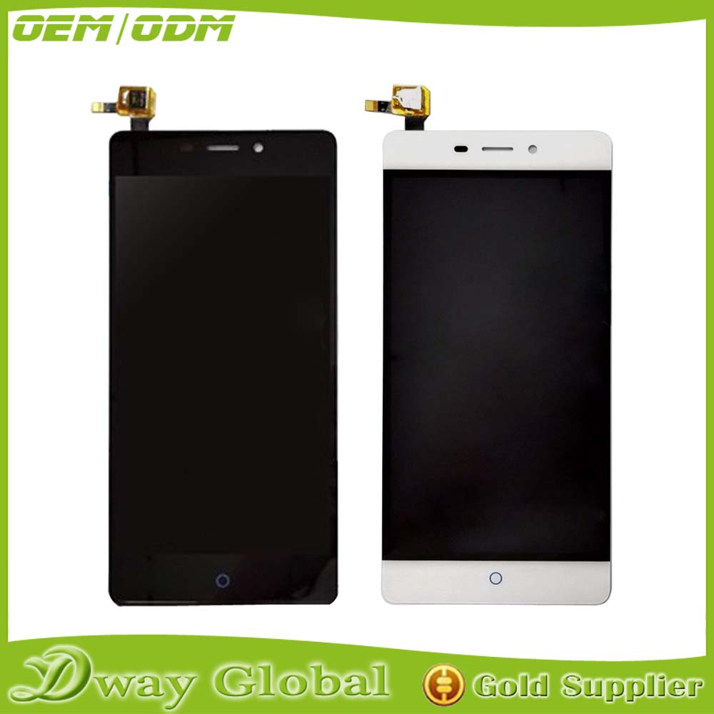Black/White For ZTE Blade V580 LCD Screen Replacement LCD Display+Touch Screen For zte blade v580