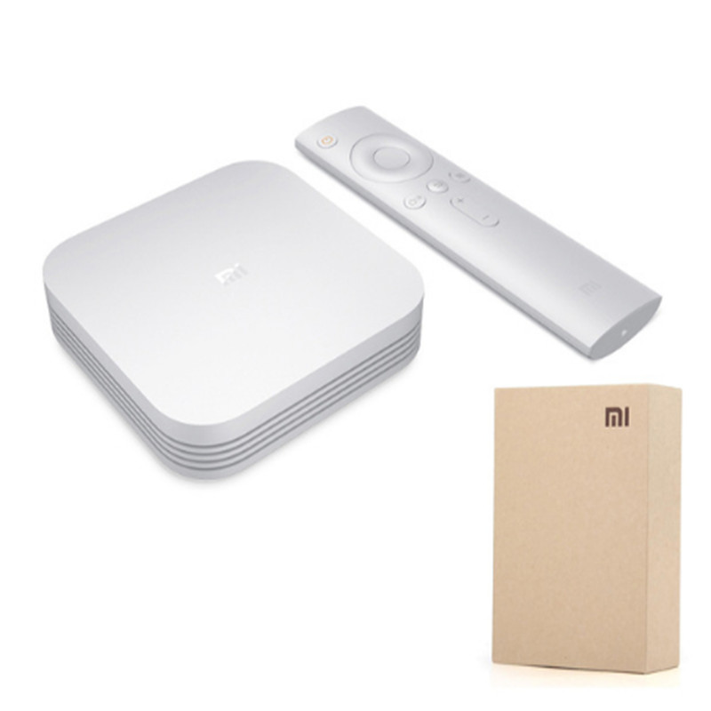 Original Global Xiaomi Mi TV Box S 4K Android TV WIFI Google Cast Netflix IPTV Set top Box 4 Media <strong>Player</strong>