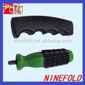 Plastic handle with steel stud/ OEM injection molding parts/ ABS injection molded plastic parts