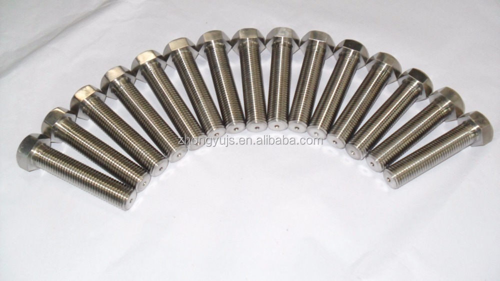 titanium standard parts and products used for machine components