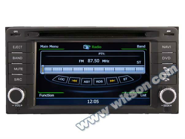 WITSON IMPREZA car stereo with Bluetooth Phone Book/Searching