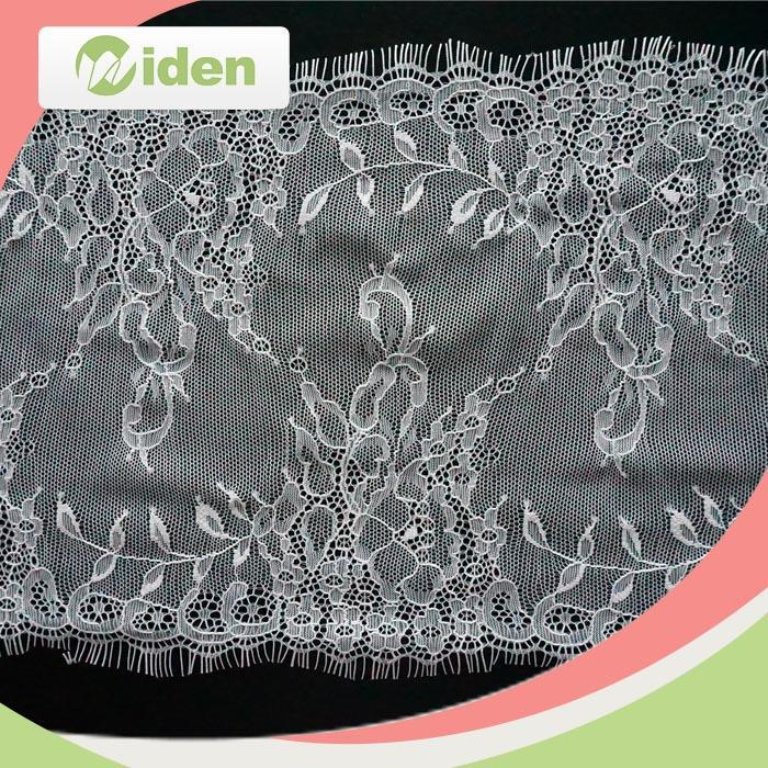 widentextile hot sell lovely nylon white ladies suits lace design
