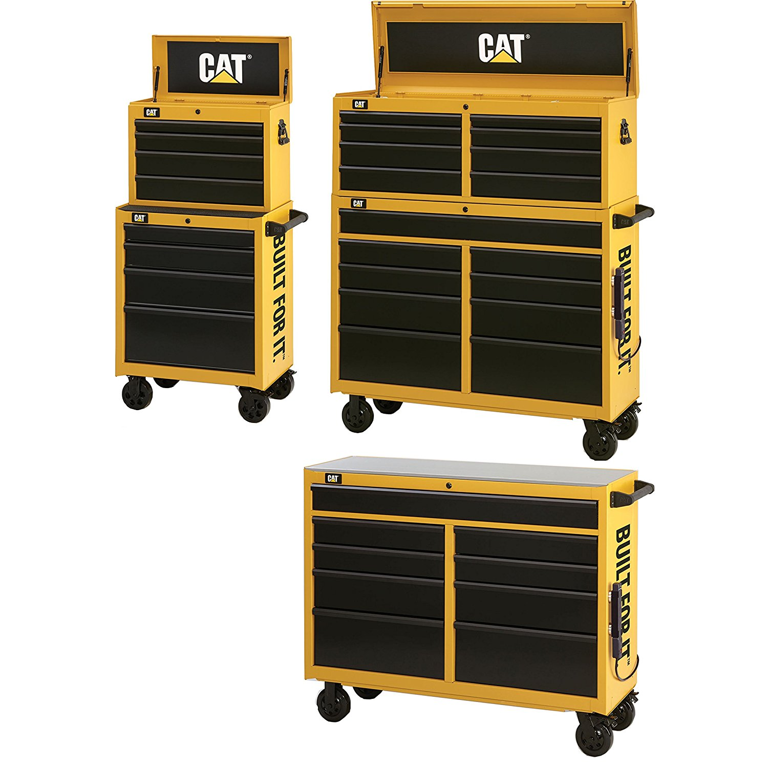 """Caterpillar CAT-IND5208 52"""" Chest/Cabinet, WS with CAT-IND2604 26"""" Chest/Cabinet"""