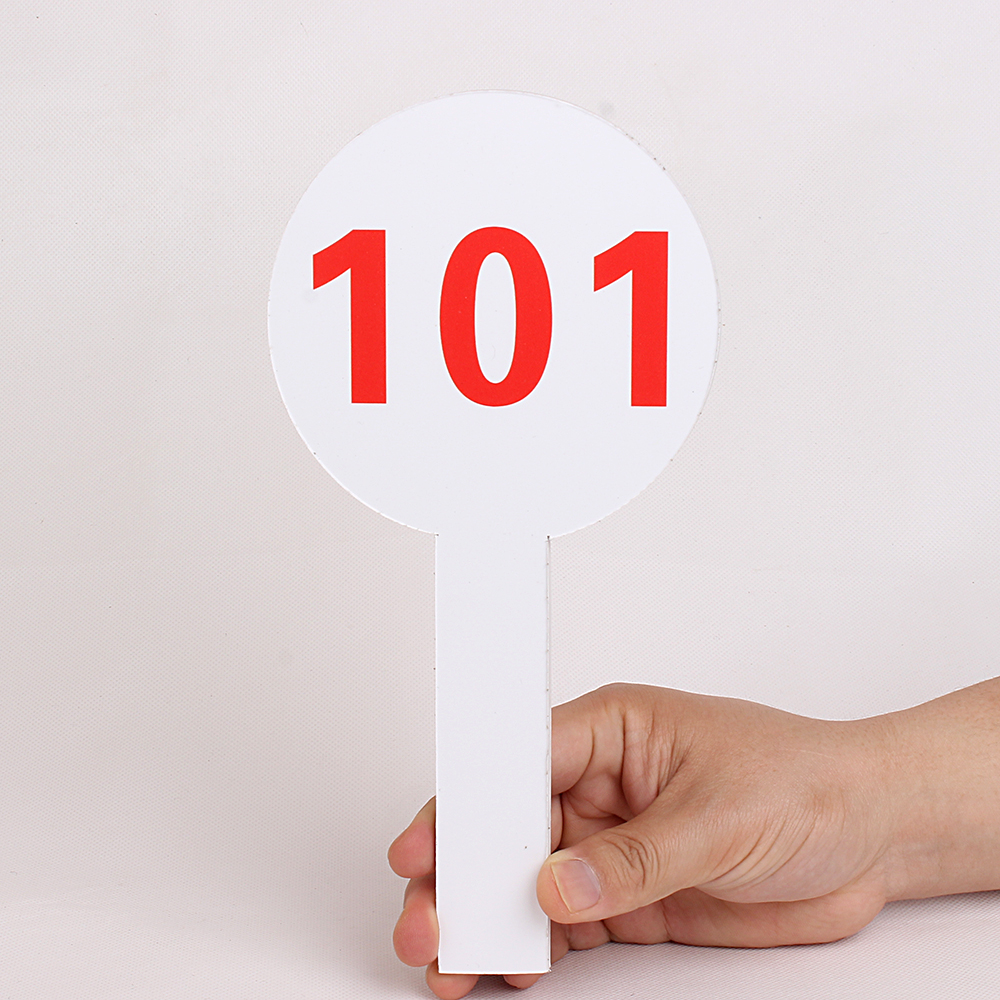 Auction Paddle Auction Sign For Bid Buy Auction Sign Number Sign Auction Paddle Product On Alibaba Com