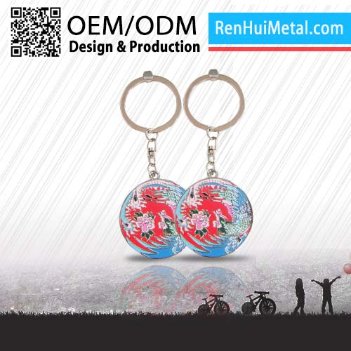Made in china 2D/3D custom mini running shoes keychain