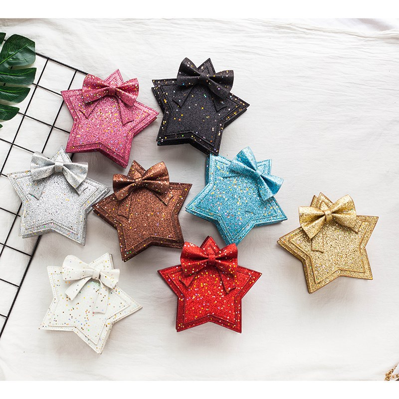 Shinny Stars New Arrived Hot Selling Products Cute 8 Color Girls Shoulder Bag