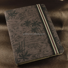 china factory cheap flip Y stand tablet case , beautiful picture fashion design book tablet cover