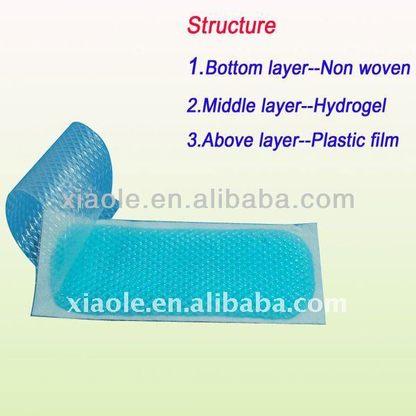 Top quality baby cooling fever cooling gel mats wholesale price hot sale