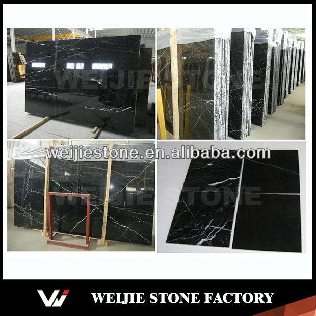 Noir et nero marquina marbre plaque bon prix chinois pas for Prix d une plaque de marbre