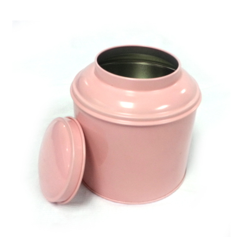 R1276H Wholesale cheap price metal round tea tin box