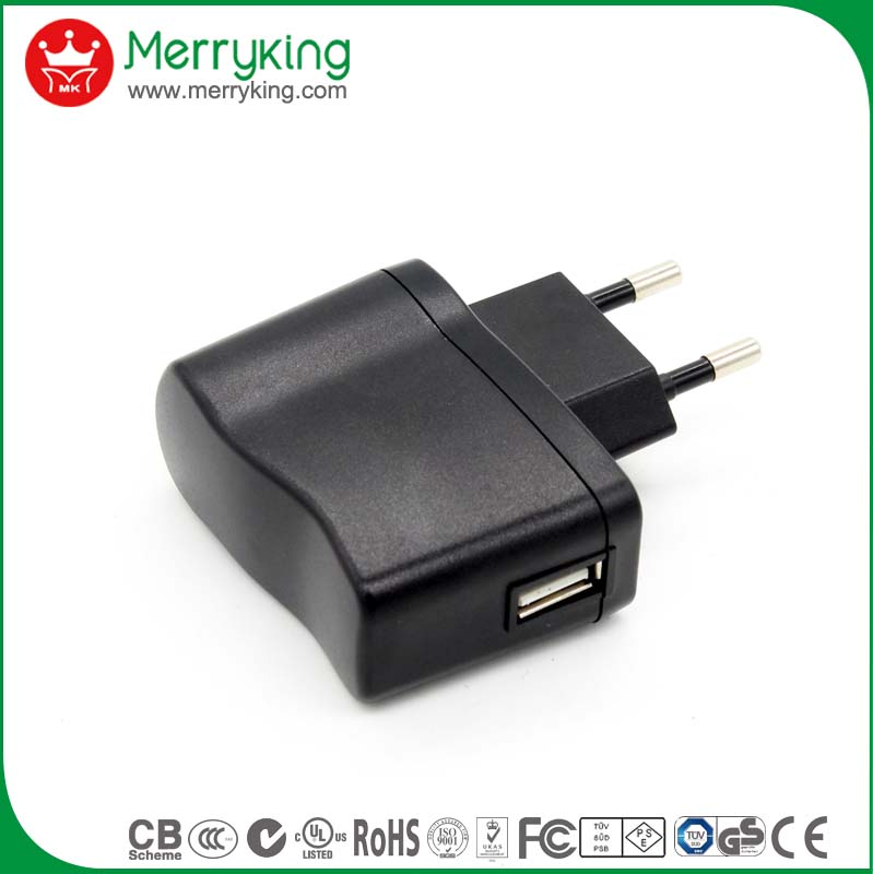 Kc Ce Certified Ac Dc Adapter 5v 1000ma Eu 5v Usb Power Supply ...