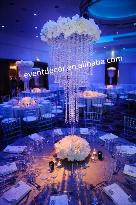 Wedding Table DecorationWholesale Crystal Table Top Chandelier