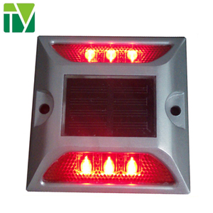 led solar stud light aluminum Protruding signs