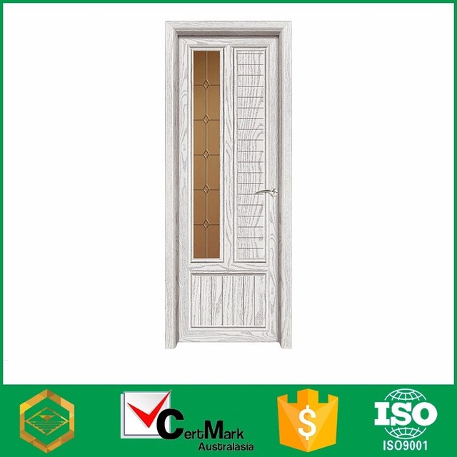China Fuzhou New Aluminum Bathroom Half French Door