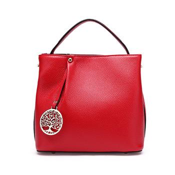 Factory Direct Oem Made High Quality 25cm Orange Togo Leather Women Gorgeous Brand Handbags