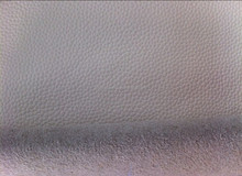 Hot selling white color Bycast leather for sofa
