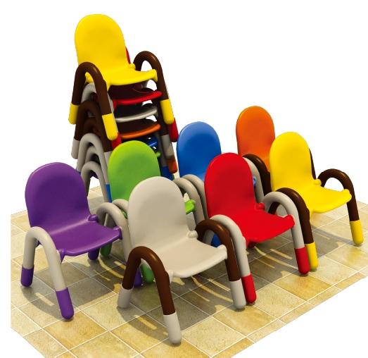 luxury kindergarten plastic kids chair/plastic chairs made in