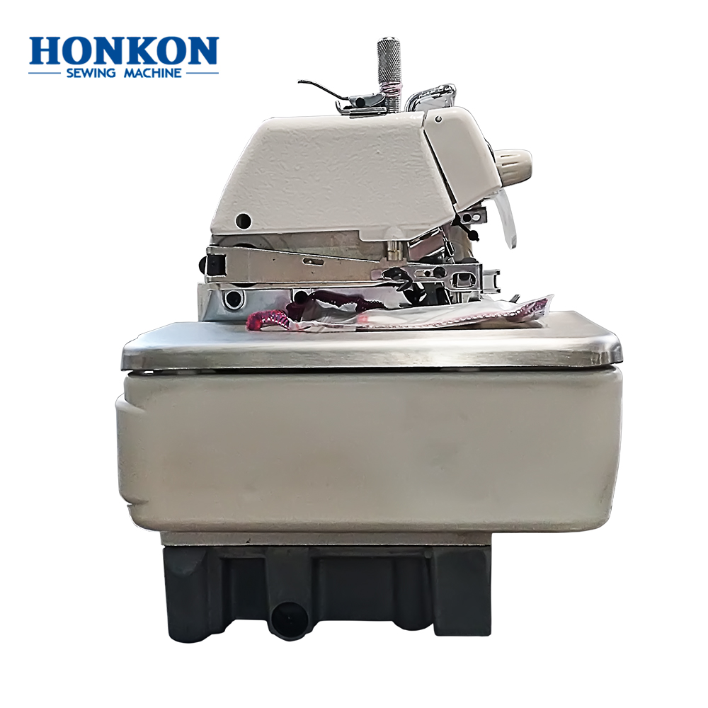 High speed overlock sewing HK-747-4D direct drive industrial sewing machine