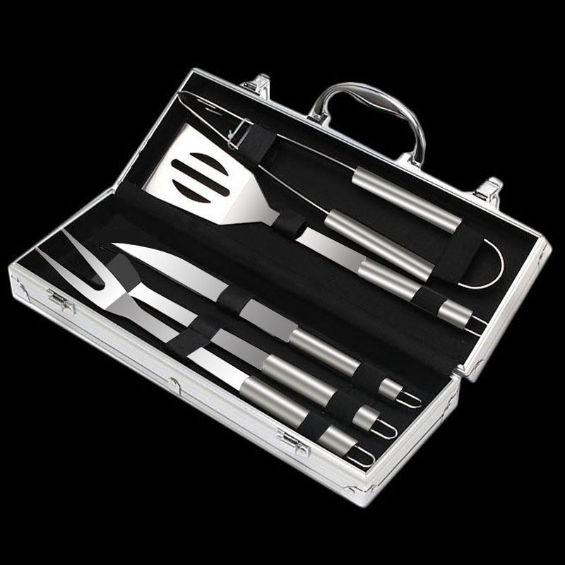 5 stks BBQ rvs grillen barbeque tool set