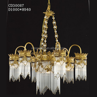 Glass Hanging Ceiling Light,Led Art Deco Chandeliers