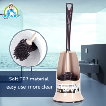 TRP soft easy bathroom cleaning toilet brush