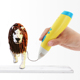 kids 3d pen low temperature, DIY 3d plastic pen for children
