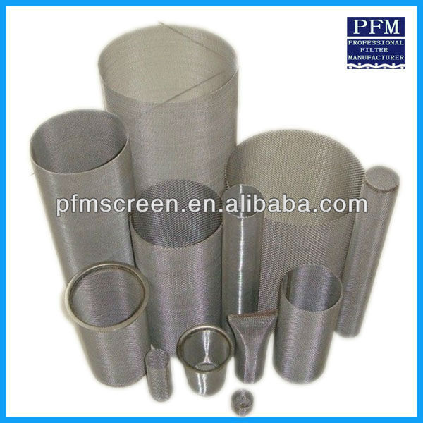 Alibaba Mengungkapkan PERFORATED Stainless Steel Silinder Filter Filter Disc, Filter Tabung