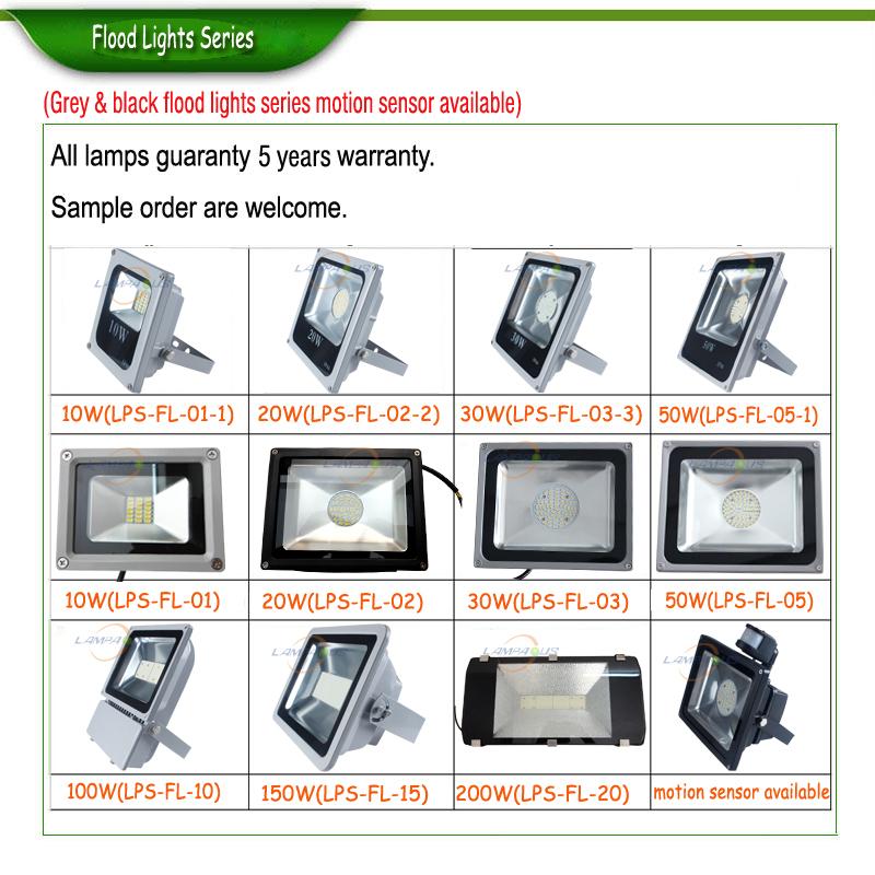 50w Pir Motion Sensor Led Flood Light,Smd 5730 Lg Floodlight ...