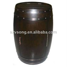 28 bottles Wooden Barrel Thermoelectric wine cooler