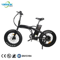 2018 New Design 8FUN/Bafang 48V 750W E-bike 20 Inch Fat Tire Cheap Bike Folding Electric Bicycle