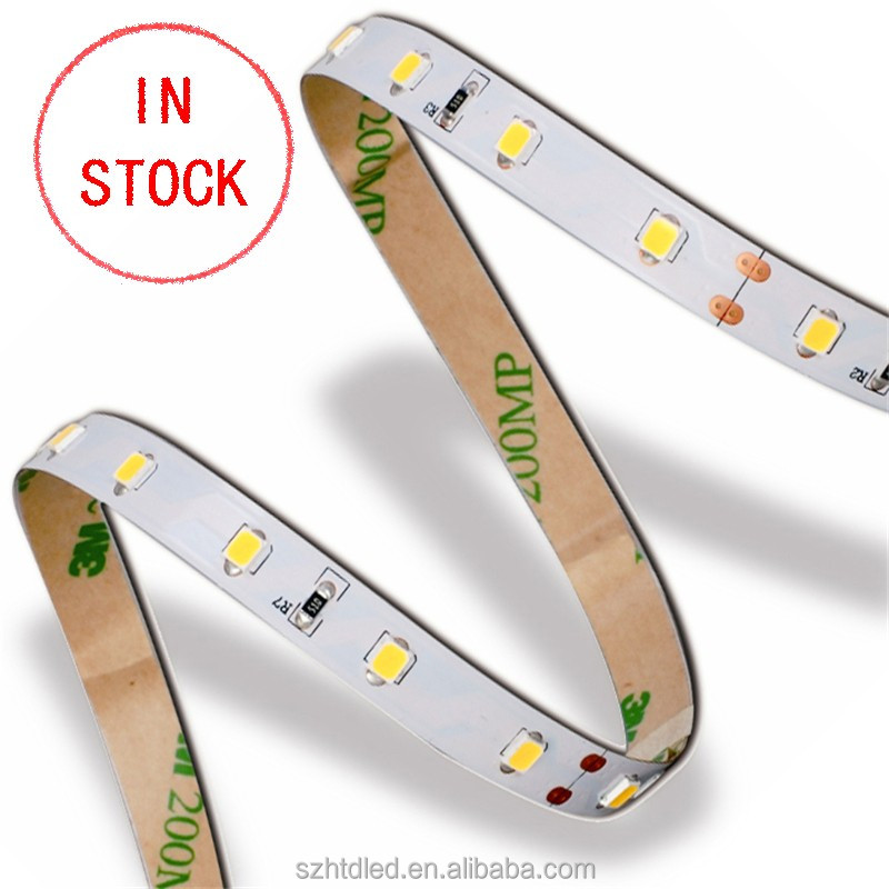 Cuttable 12 24 volt LED Rope 18 SMDs/ft 2835 LED Flex Flexible Ribbon Strip Light Warm