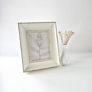 White Porcelain Picture Frames Plastic Photo Frame Wholesale - Buy ...