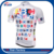 2017 new design 100% polyester sublimated mens bicycle shirt