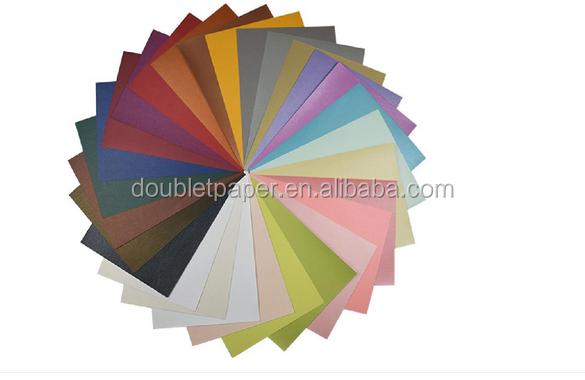 120gsm/250gsm Multi Gekleurde Luxe cadeaupapier Parel Papier