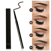 3 in 1 hot-selling waterproof brows pencil private label eyebrow pencil