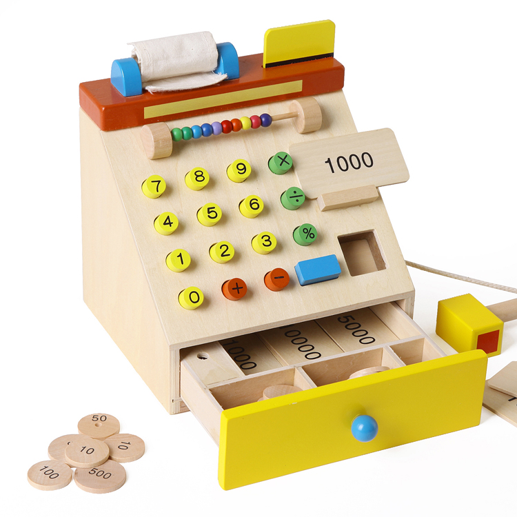 achetez en gros en bois jouet caisse enregistreuse en ligne des grossistes en bois jouet. Black Bedroom Furniture Sets. Home Design Ideas