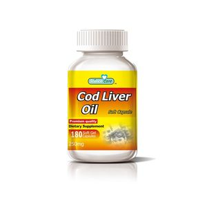 Dietary supplement improve vision 250mg cod liver oil Softgel