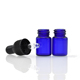 1/2 dram e juice dropper bottle 1ml 2ml mini blue clear glass vial with rubber dropper 3ml empty amber tube glass bottles