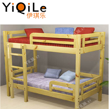 Novel Design Children Furniture Non Toxic Playwood Double Deck Bed For Kids