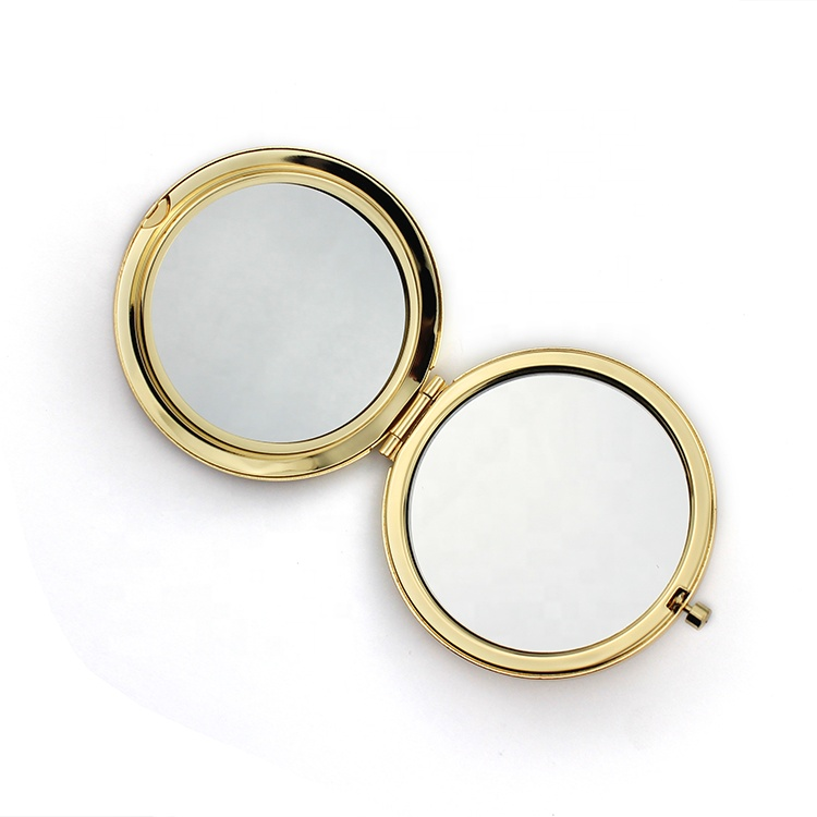 Mini round make up mirror cosmetic mirror