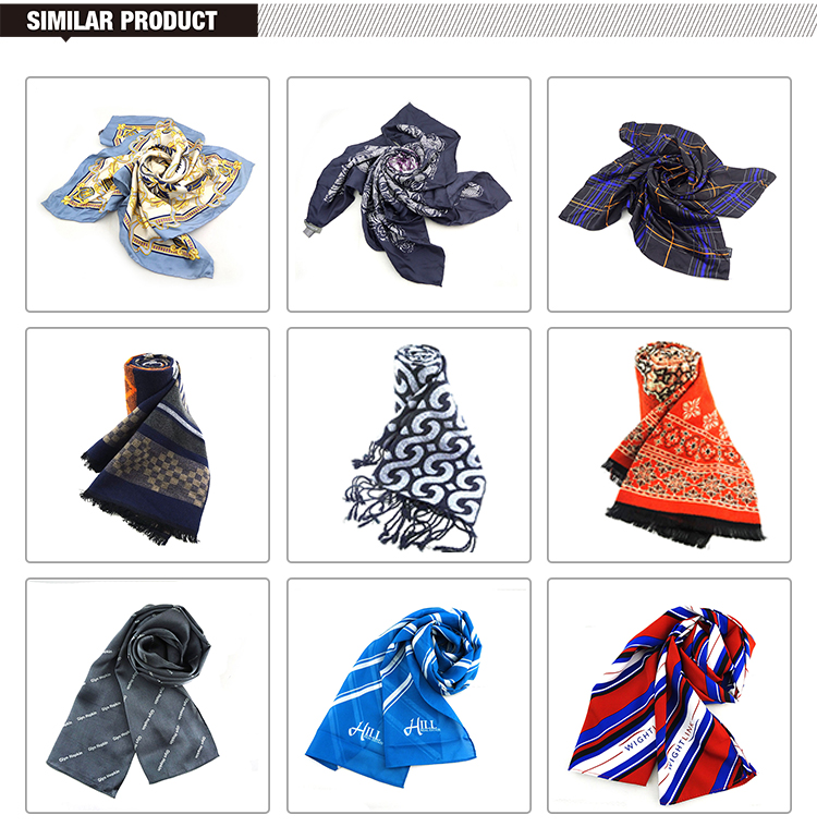 Low MOQ Custom Fashionable Printing Lady 100 Polyester Scarf