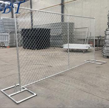 6ft X 10ft Construction Portable Temporary Chain Link