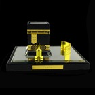 Arabic Islamic Makkah Gift Crystal The Cube Kaaba Model