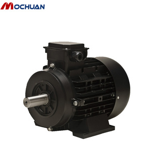 approved IE4 three phase 220v ac power 2 speed electric motor