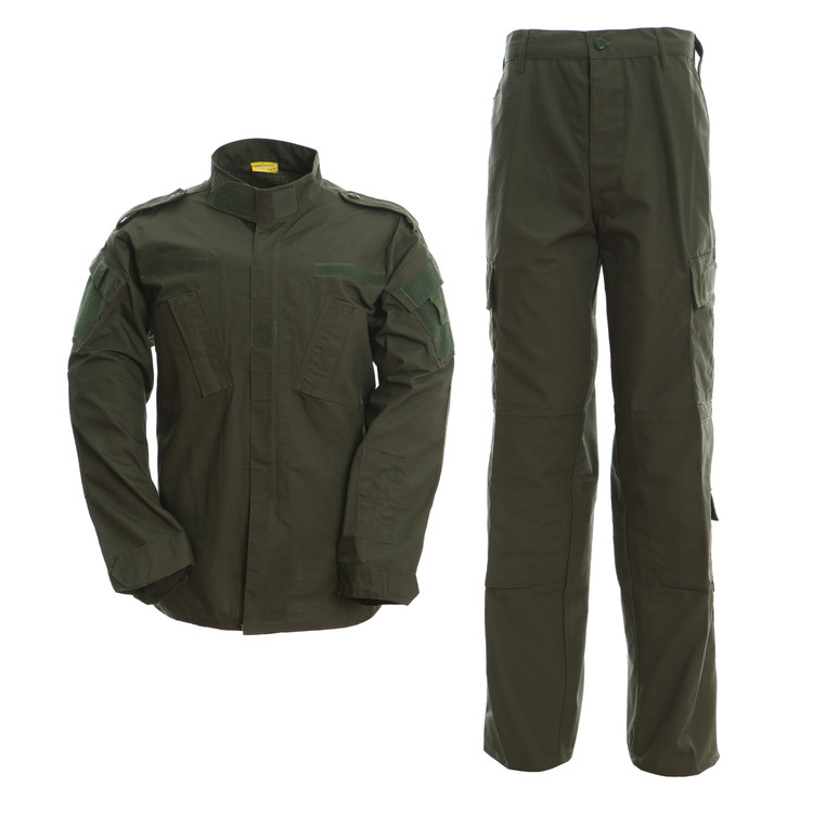 military uniform olive green ACU army uniform
