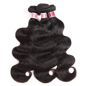 Mink raw indian temple hair unprocessed virgin weft 40 inch brazilian body wave hair extensions natural raw hair for black women