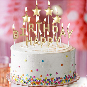 Happy Birthday Letter Candles Suppliers And Manufacturers At Alibaba