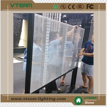 extremely high transparency glass led curtain screen