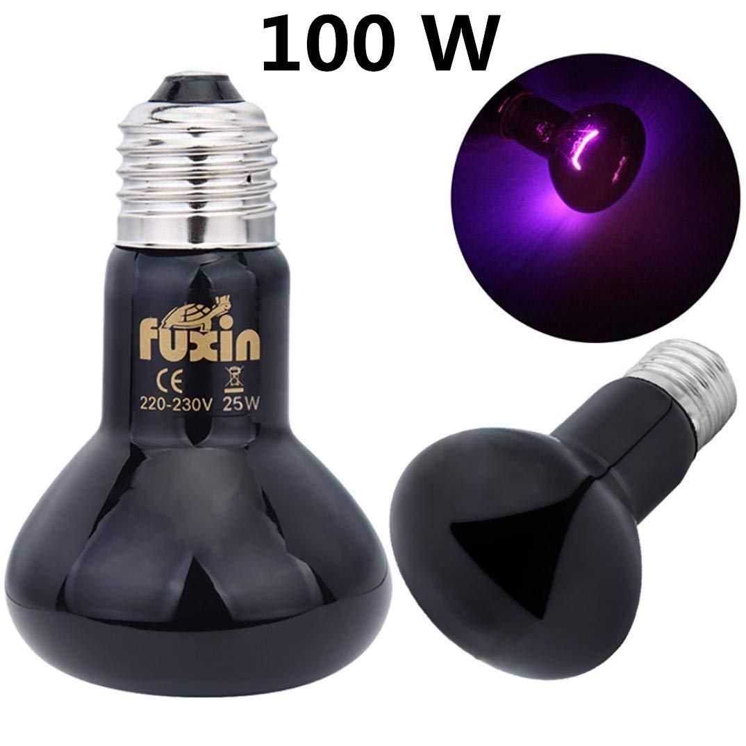 150w Reptile Daylight Neo Florescent Spotlight Bulb Lamp for Vivarium Terrarium 50//75//100//150w /…