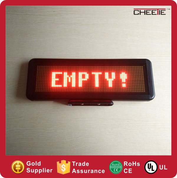 Customized LED Scrolling Display Outdoor TXT Advertising